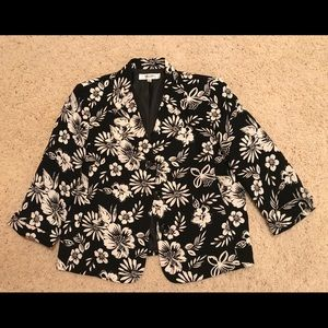 Jones Studio Separate Black/White Jacket